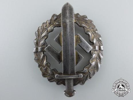 SA Sports Badge, Type III, in Bronze Obverse