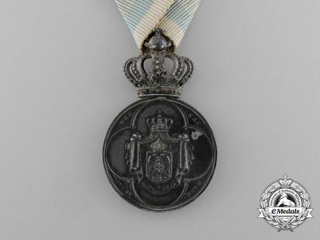 Household Medal of Milan, Type II, III Class Obverse