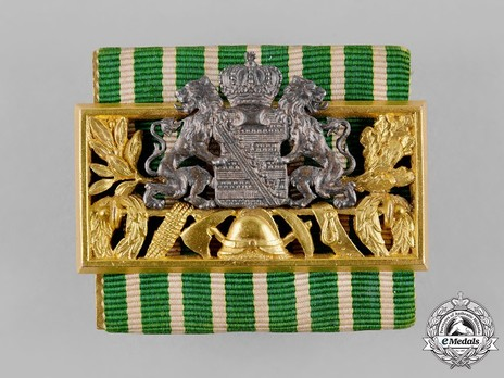Fire Service Decoration, Gold Bar (1885-1919)