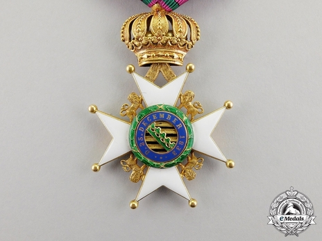 Type II, Civil Division, I Class Knight (in gold)