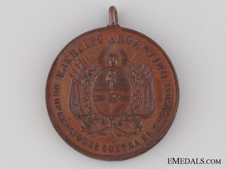 Medal Obverse (Copper)