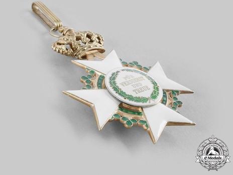 Order of Merit, Type II, Civil Division, Grand Cross (1910-1918, in silver gilt) Reverse