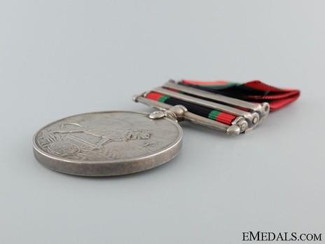 Khedives Sudan Medal, 1908 Reverse