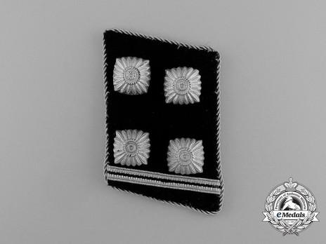 Allgemeine SS Obersturmbannführer Collar Tabs Obverse