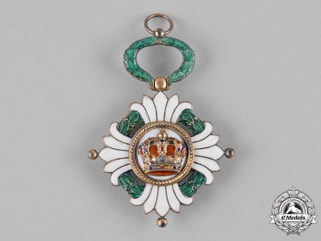 Order of the Yugoslav Crown, Knight's Cross Obverse