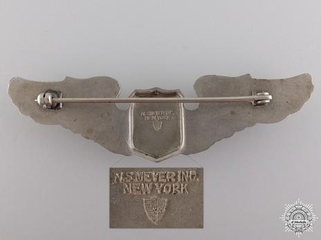 N.S Meyer Maker Mark, on WWII American Air Force Wings