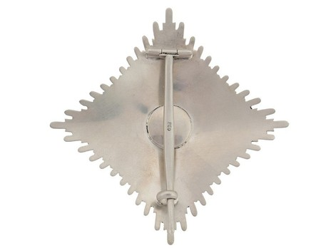 Order of Faithful Service, Grand Officer's Breast Star Reverse