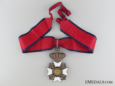 Royal Order of Francis I, Commander (in silver gilt) Obverse