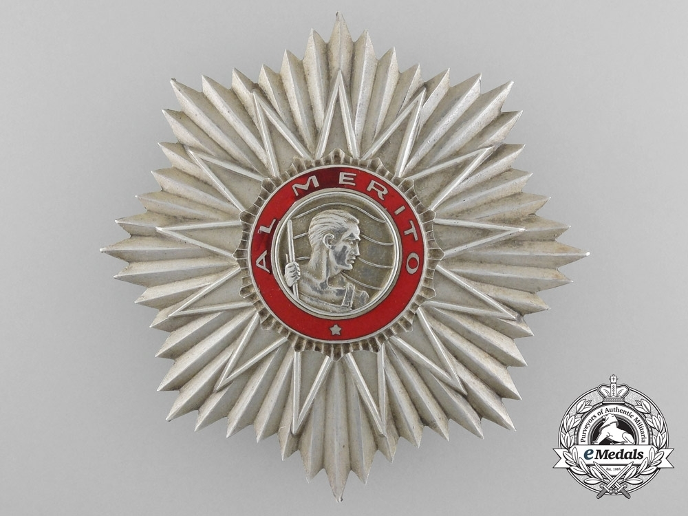 Order of may grand cross obverse 1957