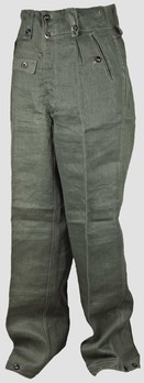 German Army Fatigue Trousers (1943 version) Obverse