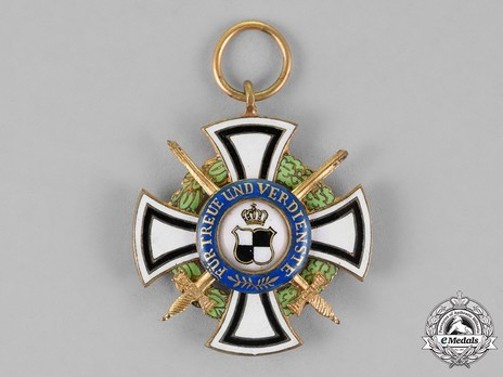 House Order of Hohenzollern, Type II, Military Division, II Class Honour Cross (1866-1918)