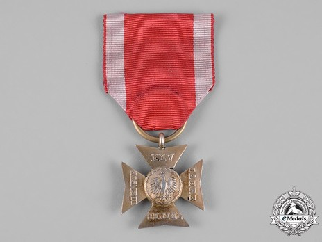 Long Service Cross in Silver for 25 Years Obverse