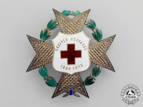 Grand Cross Breast Star of Honour and Merit (1876-1899) Obverse