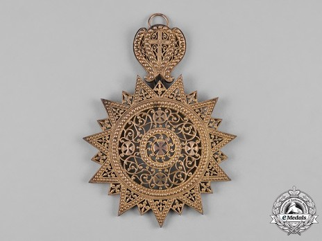 Order of the Star of Ethiopia, Grand Cross Obverse