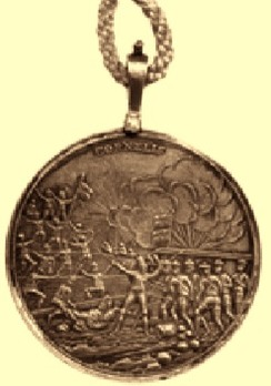Java Medal, in Silver Obverse