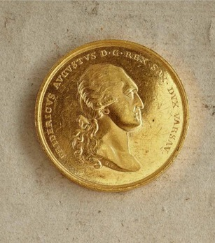 "Medal for Art and Science ""VIRTUTI ET INGENIO"", Type I, in Small Gold"
