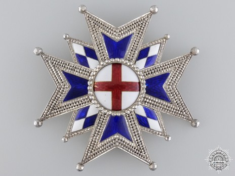 Military Order of St. George, Grand Cross Breast Star Obverse
