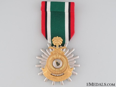 Liberation of Kuwait Medal (Saudi Arabia) Obverse