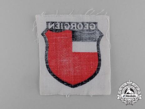 German Army Georgia Sleeve Insignia Reverse