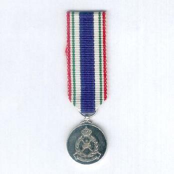 Miniature Royal Oman Police Meritorious Service Medal Obverse