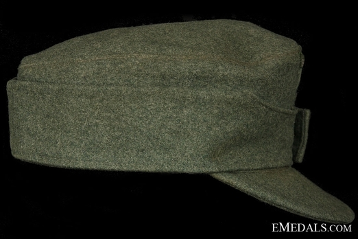 German Army NCO/EM's Mountain Cap Right Side