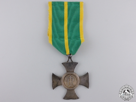 Long Service Cross for the Financial Police, in Silver Obverse