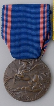 Medal of Aeronautical Valour, in Bronze Obverse
