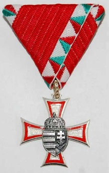 Enlisted Men Service Decoration, II Class (for 10 Years) Obverse
