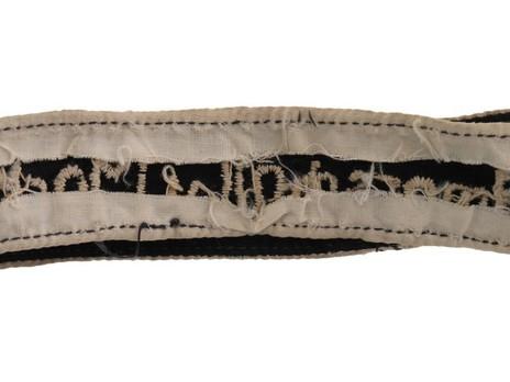 German Army Feldmarschall v. Mackensen Cuff Title Reverse Detail