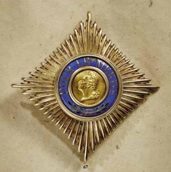 Pour le Mérite, Grand Cross Breast Star (1866-1918)