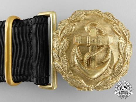 Kriegsmarine Officer's Undress Belt Buckle Obverse