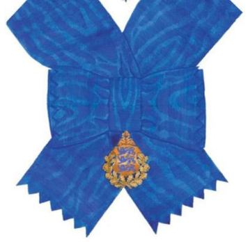 Order of the National Coat of Arms, I Class Cross Obverse