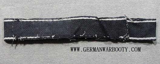 Waffen-SS Germania Officer's Cuff Title Reverse