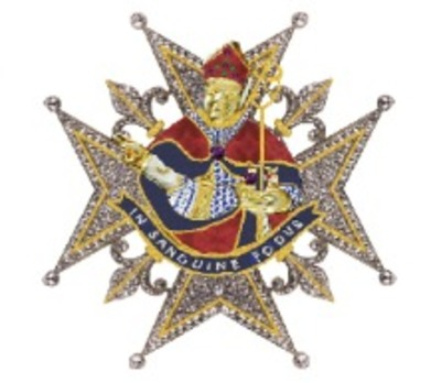 Knight Breast Star (Silver/Gold) Obverse