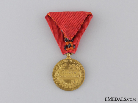 Military Division, Gold Medal Reverse