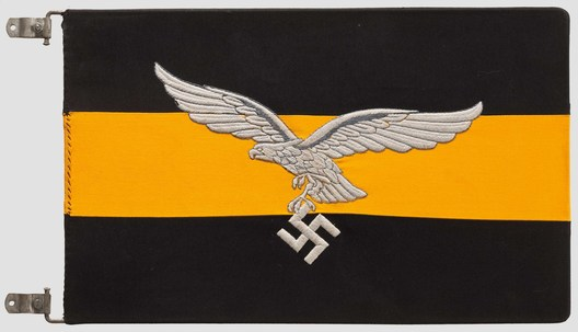 Luftwaffe Regiment Control Flag (Geschwader version) Obverse