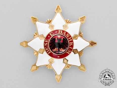 Order of the Black Eagle, Grand Cross Breast Star Obverse