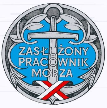 Decoration for Meritorious Sea Workers Obverse