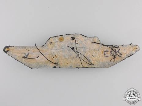 Luftwaffe General Ranks Cockade & Winged Oak Leaves Insignia Reverse
