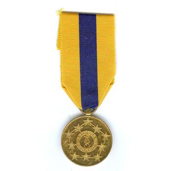 Garda Síochána Golden Jubilee Medal in Gold