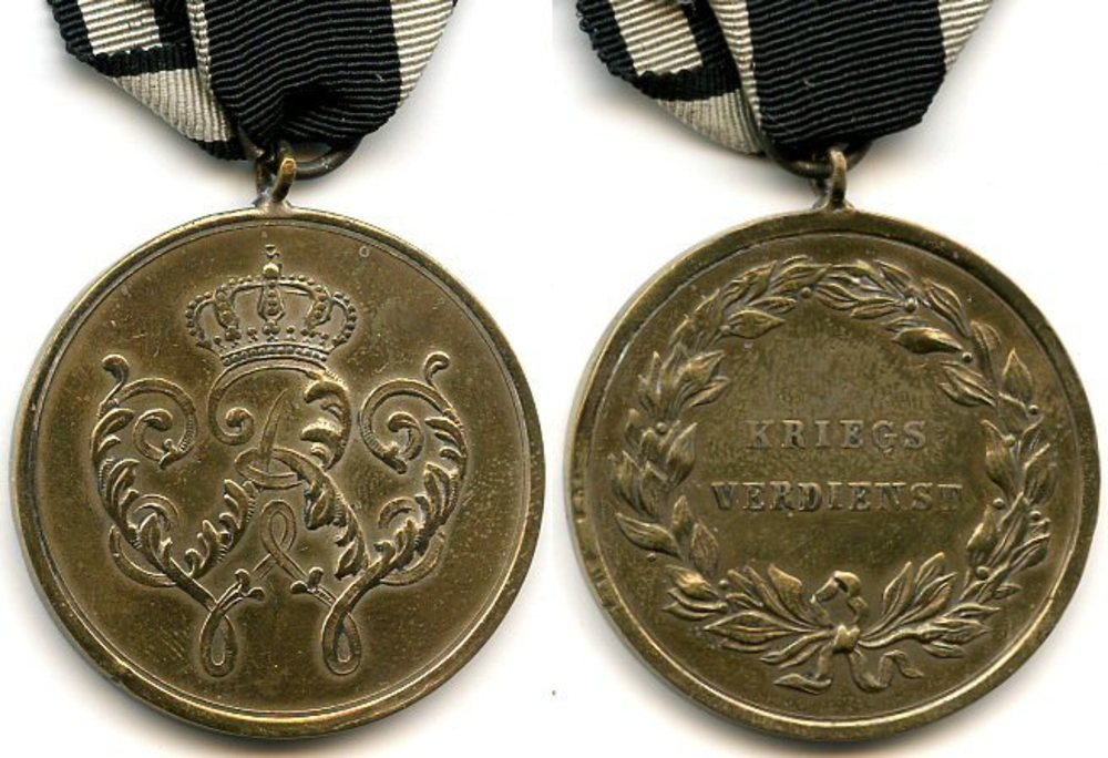 Military honor medal 1864 prussia