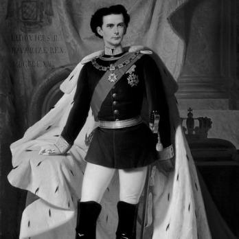 King Ludwig II wearing a Military Order of St. George, Grand Cross Breast Star
