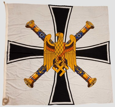 Kriegsmarine Grand Admiral Flag Obverse