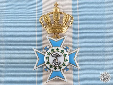 """Order of Theresa, Cross (with diamonds on the """"T"""") Obverse"""
