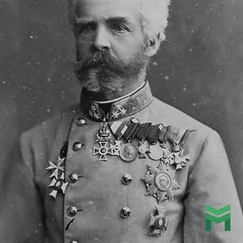 Wilhelm von Wurttemberg wearing a Prussian Pour le Merite