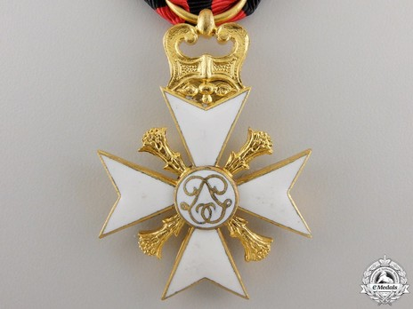 I Class Cross (for Long Service) Reverse