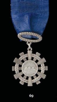 National Order of Merit, Type I, Silver Medal
