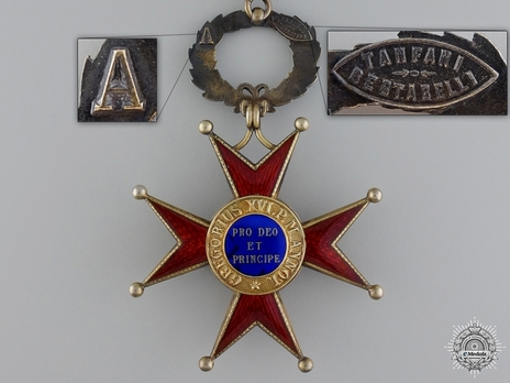 Order of St. George the Great Grand Officer (Civil Division) (with silver-gilt) Reverse