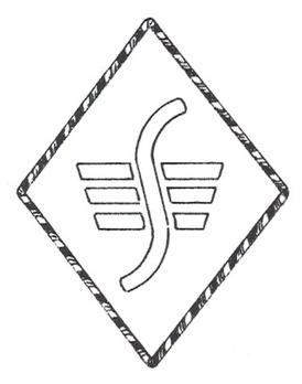 DLV Sturmführer Positional Insignia Obverse