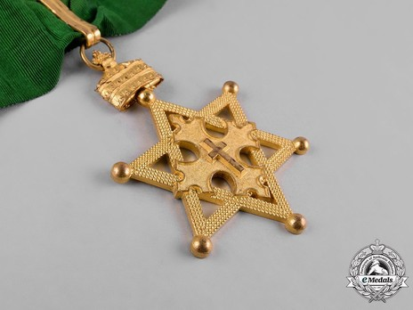 Order of Solomon's Seal, Commander Obverse